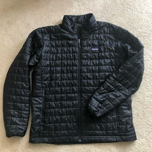 Patagonia Men's Nano Puff Black No Hood XXL